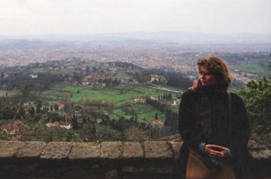 Über den Dächern von Florenz 1992