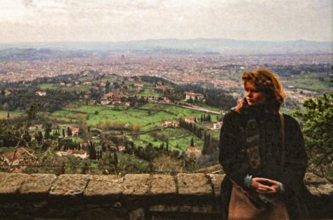 just married, Florenz 1992